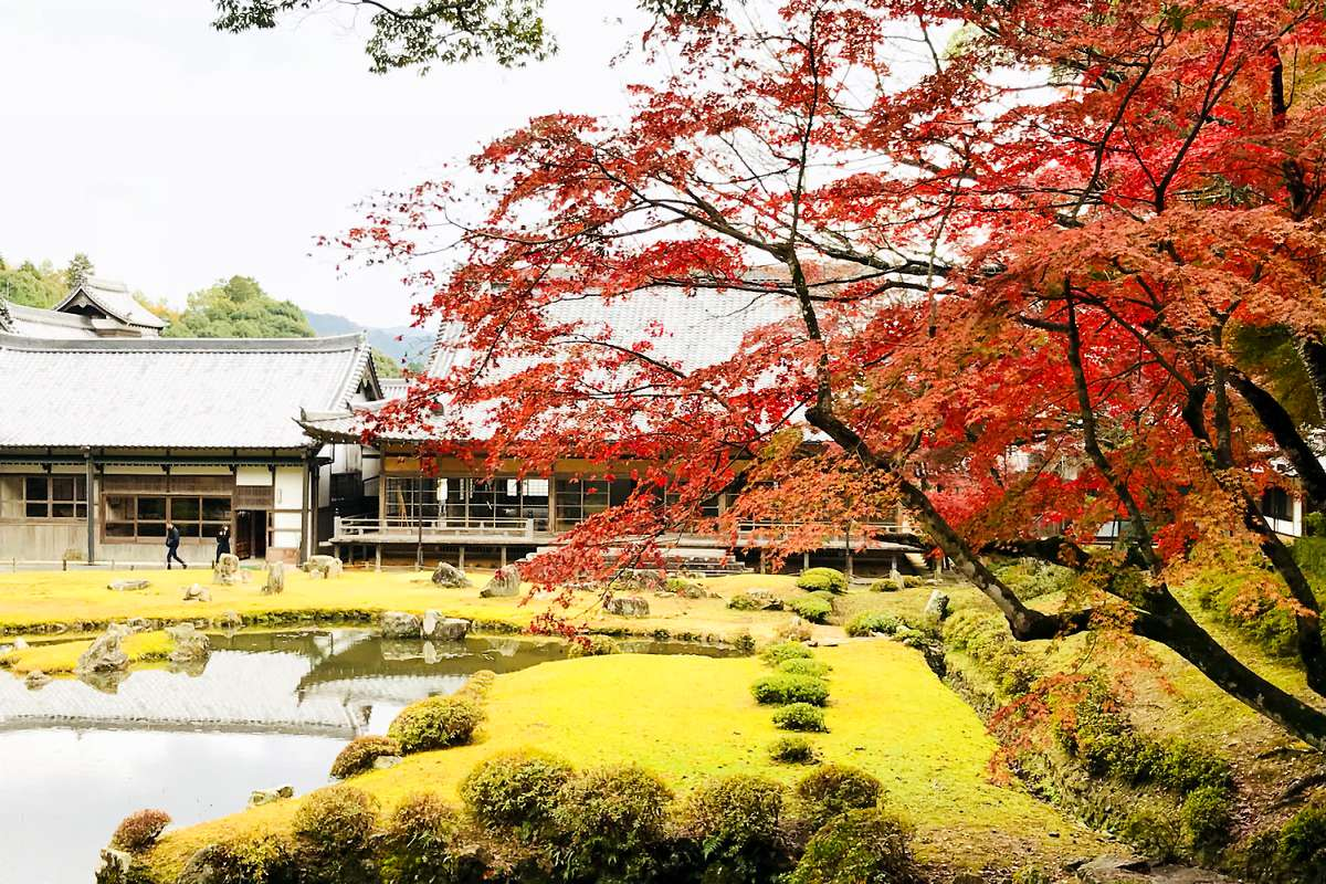 常栄寺 雪舟庭|卍常栄廣利禅寺|山口県山口市 - 八百万の神